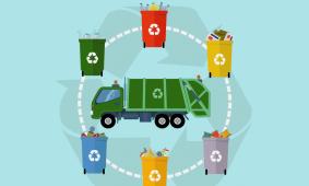 Coleta de Lixo nas Escolas